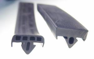 EPDM Transportschutzprofile für Glasgestelle