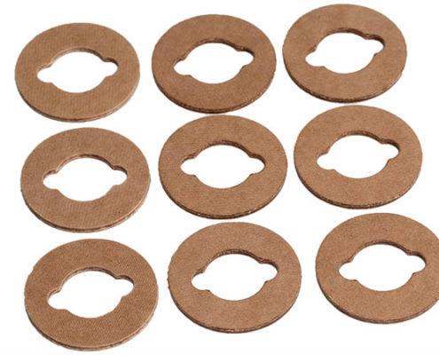 gestanzte Ringe aus Pressspan