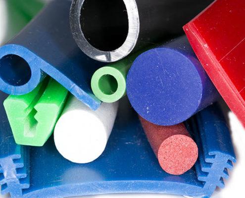 Silikonprofile farbig Mix
