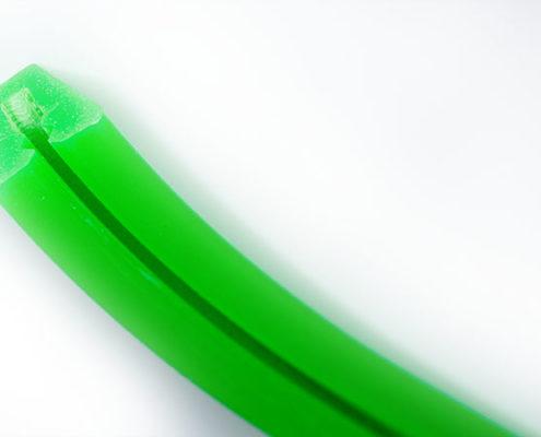 Silikonprofil grün